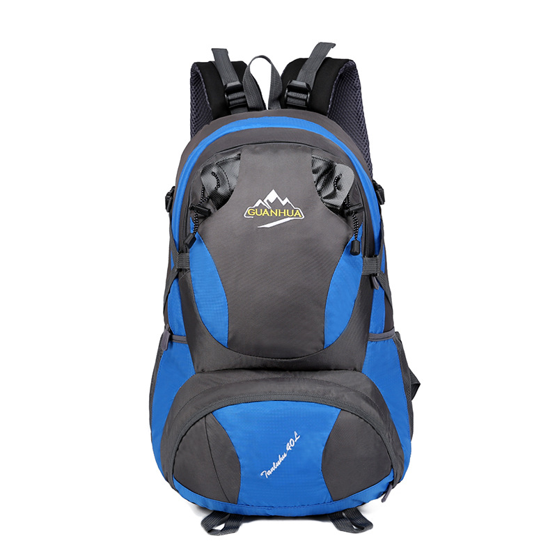 New Style Outdoor Large-Volume Backpack Sports Backpack Mountaineering Bag Men And Women Hiking Bag Travel Bag Customizable