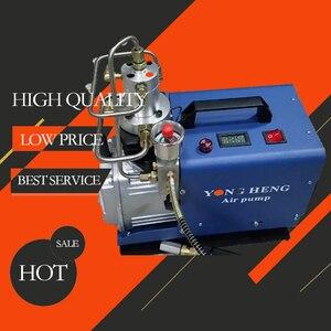 300BAR 30MPA 4500PSI Воздушный насос высокого давления Электрический воздушный компрессор для пневматического воздушного пистолета подводная винт...
