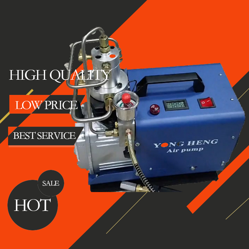 300BAR 30MPA 4500PSI High Pressure Air Pump Electric Air Compressor For Pneumatic Airgun Scuba Rifle PCP Inflator