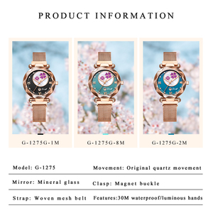 Image 3 - Crystal 2019 Fashion Women Watch Luxury Ladies Watches reloj mujer Female Quartz Wristwatch Full Rhinestone Waterproof Clock