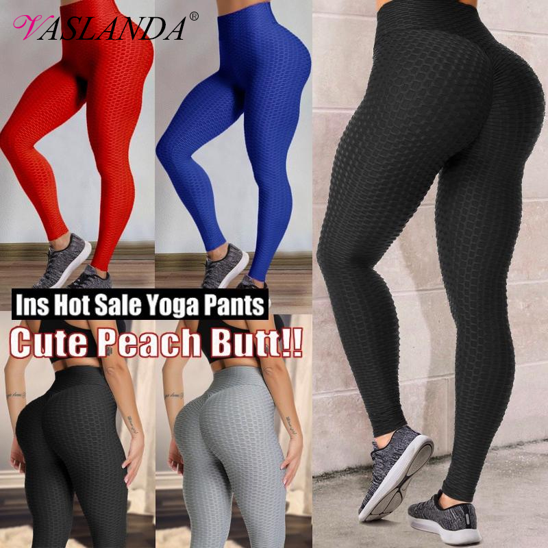 High Waist Compression Leggings Tummy Control Sports Pants For Fitness Cycling Yo Ga Running Jeggings Butt Lifter Workout Pant