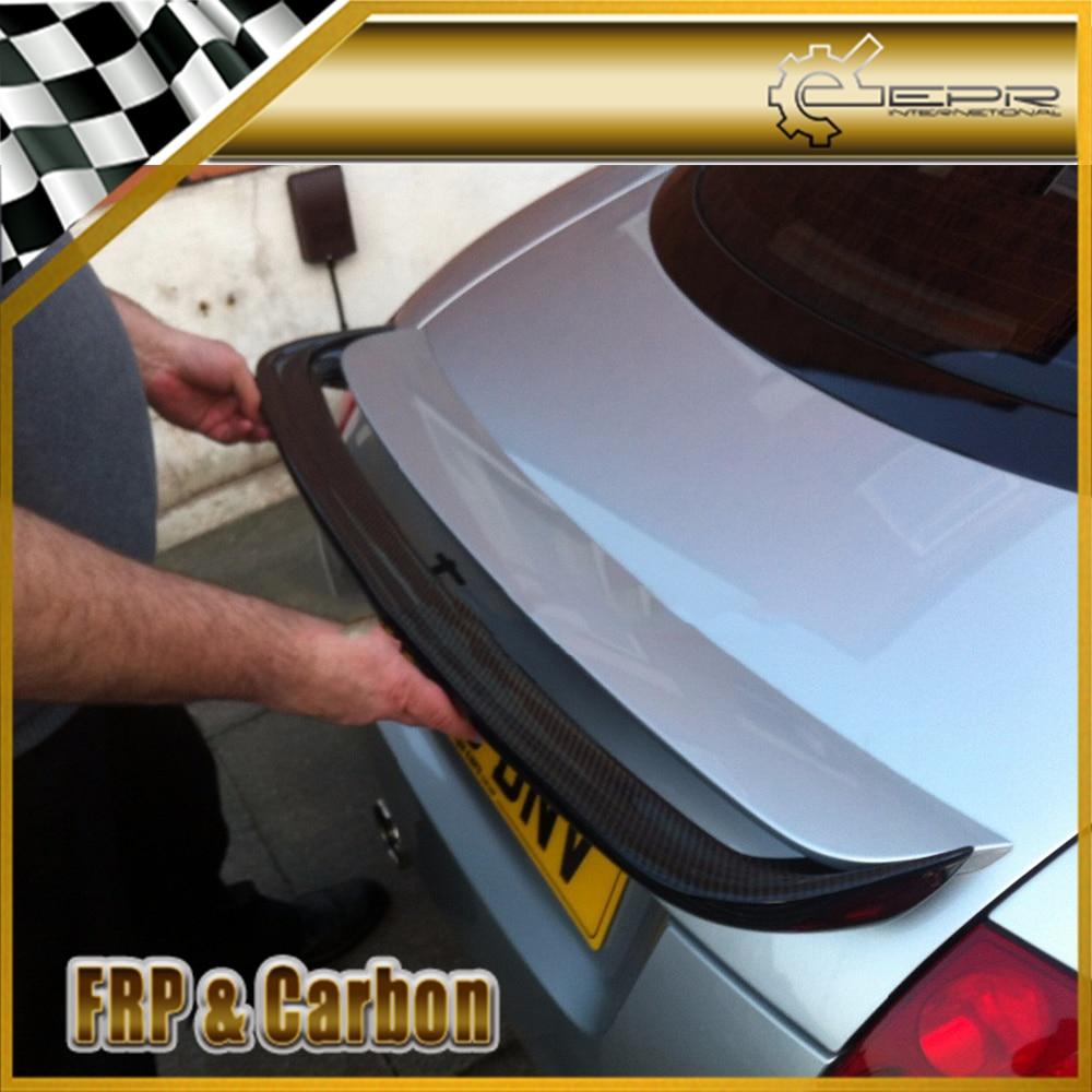Car Styling For Audi Tt Mk1 Type 8n Carbon Fiber Ducktail Spoiler Add On Body Kit Tuning For Tt Mk1 Rear Wing Lip Trim Awnings Shelters Aliexpress