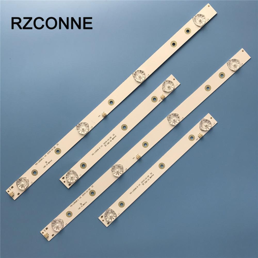 LED Strip For AKAI AKTV3221 32LED38P JS-D-JP3220-041EC MS-L0928-R  MS-L0928-L Smart E32F2000 D32-0A35