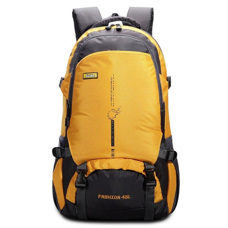 Походный рюкзак, водонепроницаемый, Оксфорд, 40л, масштабируемый, большая вместительность, дорожная сумка, на открытом воздухе, для пар, женщин, мужчин, кемпинга, треккинга, ранец, для катания на лыжах|Сумки для альпинизма|   | АлиЭкспресс