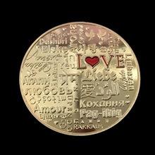 Commemorative Coin Love Birds Couple Flying Collection Coins Souvenir Alloy Silver Gold Art Gifts Badge Drop Shipping