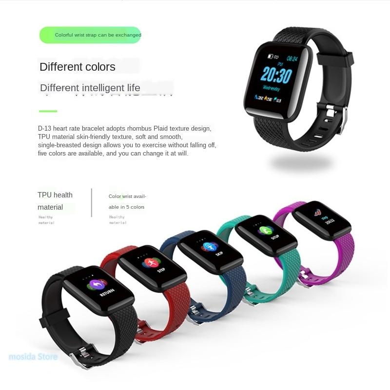 10 relógios inteligentes dos pces, pulseiras inteligentes,