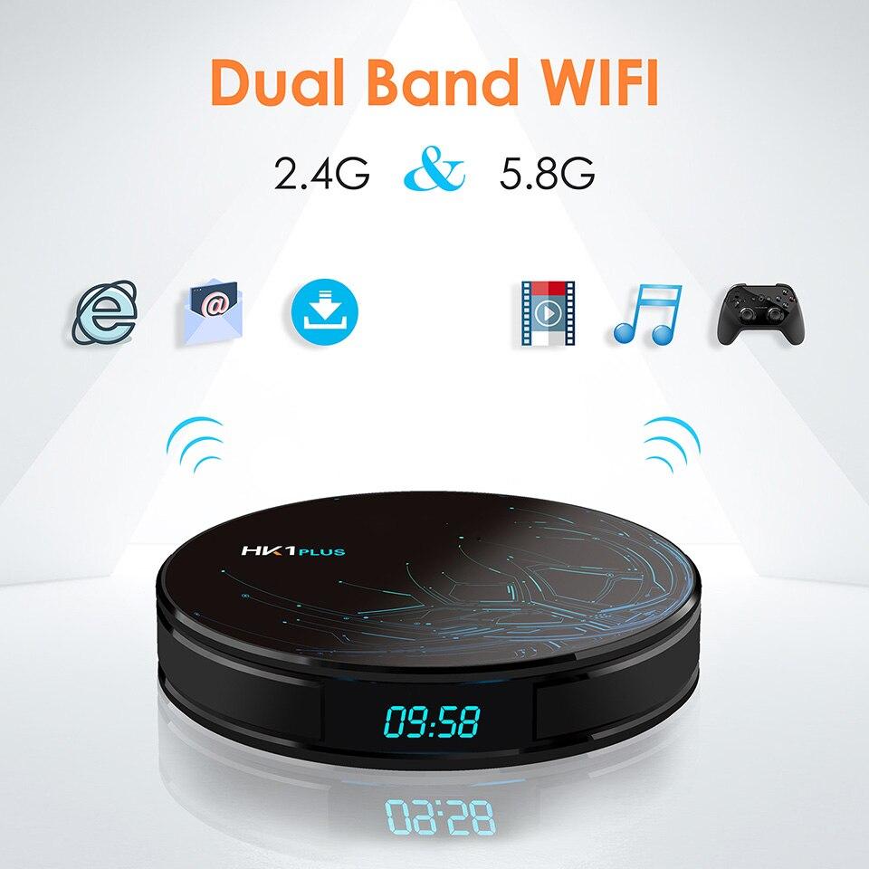 IPTV Italia Arabic French Android 8.1 HK1Plus smart box with Popular channels box 4G 64G Dual-Band Wifi BT4.0 Spain Tunisia IPTV (17)
