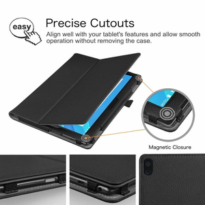 Image 4 - Funda Capa Case Tab 4 10 Plus TB X704F X704L TB X304F X304l PU Leather Tablet Cover for Lenovo TAB4 10 X704f X304F Flip Case