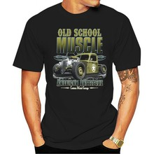 Camiseta tim braunton mit einem quente haste-eua carro-50 50 estilo modell velha escola 2021