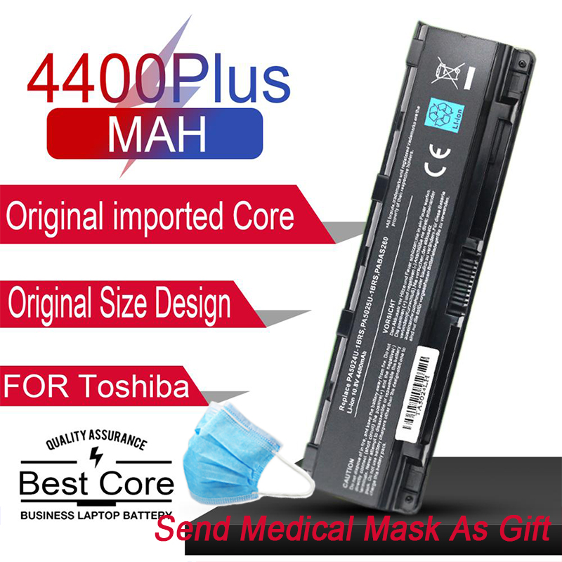 Japanese Cell Laptop Battery For Toshiba Satellite C800 C850 C870 L800 L830 L850 L855 L870 PA5024U PA5025U PA5024U-1BRS PABAS260