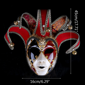 Image 5 - Strongwell Party Mask Venice Masks Party Supplies Masquerade Mask Christmas Halloween Venetian Costumes Carnival Anonymous Masks