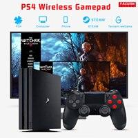 Mando inalámbrico para PS4, mando a distancia con Bluetooth, Micro USB de Gaming, Joypad con DualShock para PS4/Pro/Sony Slim