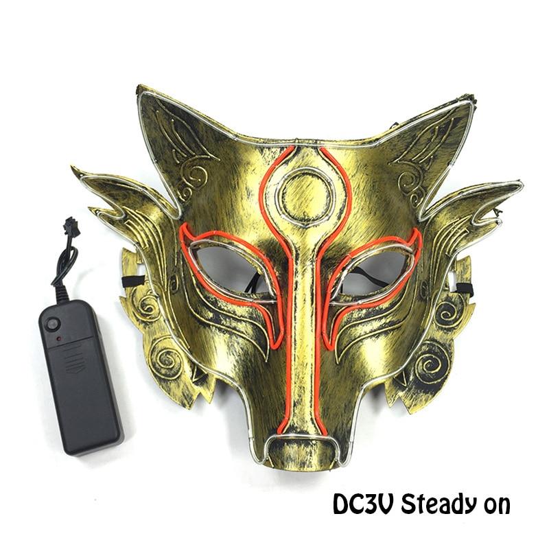 狼人动物面具-不发光