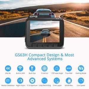 Image 2 - AZDOME GS63H araba çizgi kam 4K 2160P Dash kamera çift Lens dahili GPS DVR kaydedici Dashcam WiFi g sensor döngü kayıt