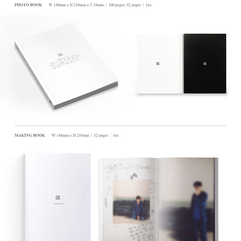 KPOP Bangtan Boys BE MAP OF THE SOUL:7 photo album with 16pc photo 8pc bookmarks Collection Photocard
