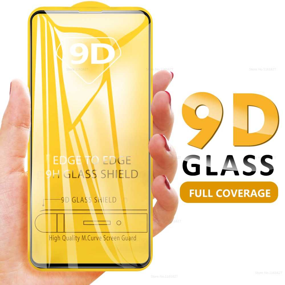 9D Full Cover Tempered Glass For Huawei Honor 9X 20 Pro 10 Lite View 20 20i 10i V20 Screen Protector High Quality Front Glass