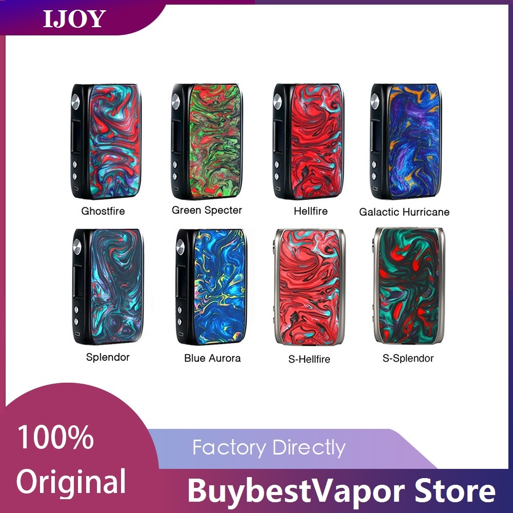 New Original VAPE MOD Ijoy SHOGUN UNIV Mod 180w Electronic Cigarette Box Mod for KATANA SUBOHM Tank Vs DRAG 157W MOD/DRAG Mini-in Electronic Cigarette Mods from Consumer Electronics    1