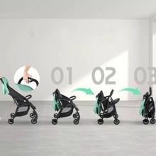 A7 Hot Sales sample baby stroller lightweight 4.6kg folding high landscape umbrella stroller voondo baby stroller can sit cart 2 in 1 and 3in1reclining lightweight folding children high landscape child baby stroller bb