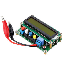 A2-- LC100-A Digital LCD Mini USB Interface Capacitor Test High Precision Inductance Capacitance L/C Meter(China)