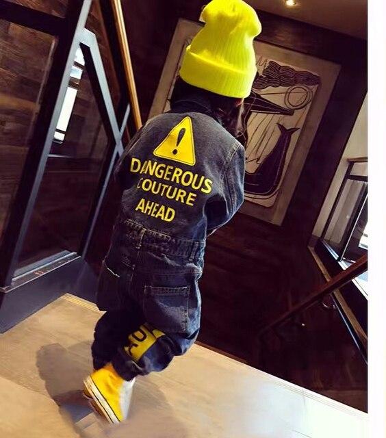 CNFSNJ 2020 นุ่ม DENIM เด็ก Romper Graffiti ทารกแรกเกิดเสื้อผ้า Jumpsuit เด็กทารกเด็กหญิงเครื่องแต่งกายคาวบอยแฟชั่นกางเกงยีนส์เด็ก