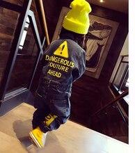 CNFSNJ Yumuşak Denim Bebek Romper Graffiti Bebek Giysileri Yeni Doğan Tulum Bebekler Oğlan Kız Kostüm Kovboy Moda Kot Çocuk