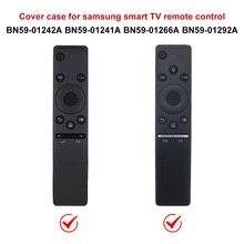 Caixa de silicone controle remoto para samsung smart tv versão de voz bn59 série anti lost 3m à prova de choque à prova de água proteção completa