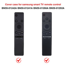 Silicone Case Remote Control For Samsung Smart TV Voice Version  BN59 Series Anti Lost 3M Shockproof Waterproof Full Protective
