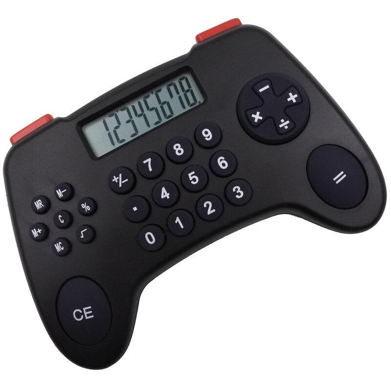 8 digit Gamepad hesap makinesi promosyon hediye çocuk bilgisayar yaratıcı karikatür hesap makinesi öğrenci hesap makinesi çocuğun hesap makinesi title=