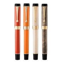 Jinhao 100 centennial каучуковая перьевая ручка 18kgp средний/зеркальный