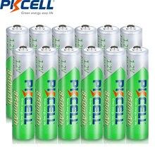 Pilas recargables AAA de 1,2 voltios Ni MH, 12 unidades, 850mAh, NIMH 3A AAA