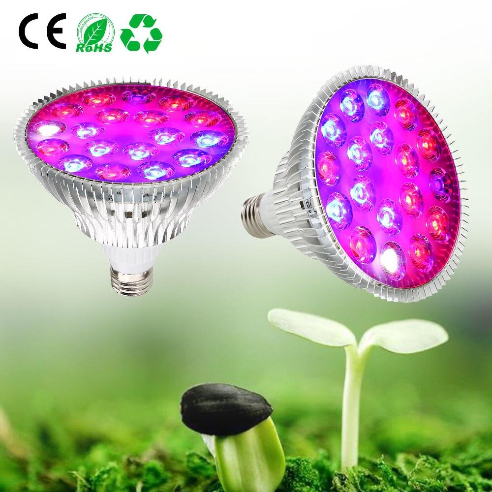 Светодиодный светильник для выращивания лампада лампа внутреннего освещения для теплиц цветущие растения Гидропоника Садовый цветок