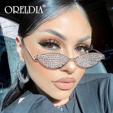 Солнцезащитные очки «кошачий глаз» женские брендовые дизайнерские