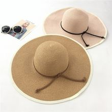 Соломенная Панама для пляжа популярные складные пляжные шляпы