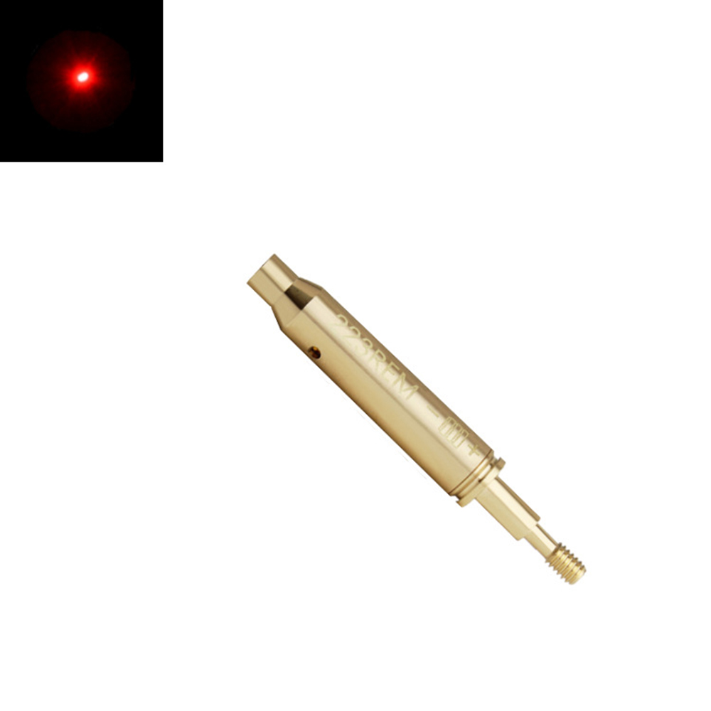 233 Laser Hunting Optics Laser Locator With Threaded Tail Red Laser Bore Sight Boresighter Fit For Arrow Laser Sight