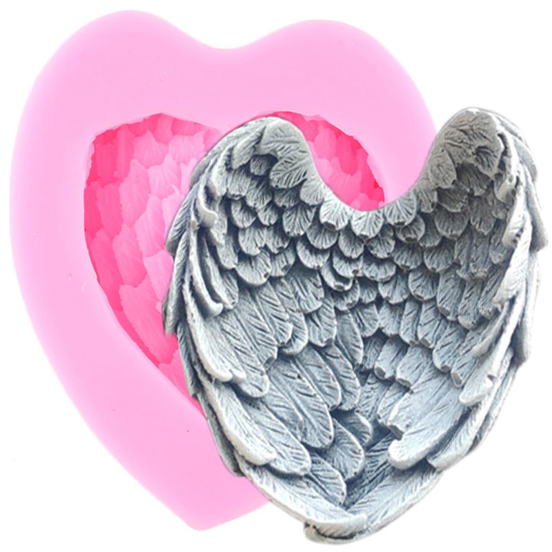 Angel Wings Silicone Molds Craft Fondant Cake Decoration Gumpaste Mold Resin