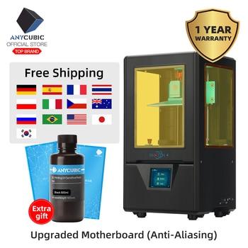 ANYCUBIC Photon-S 3D Printer Upgraded Black With 500ML/2pcs Fep LCD SLA PhotonS Module Matrix Dual Z axis Printer Kit 3d Drucker 1