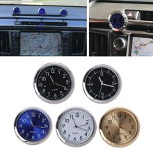 Universal Car Clock Stick-On Electronic Watch Dashboard Noctilucent Decoration For SUV Cars Auto Replacement Clocks
