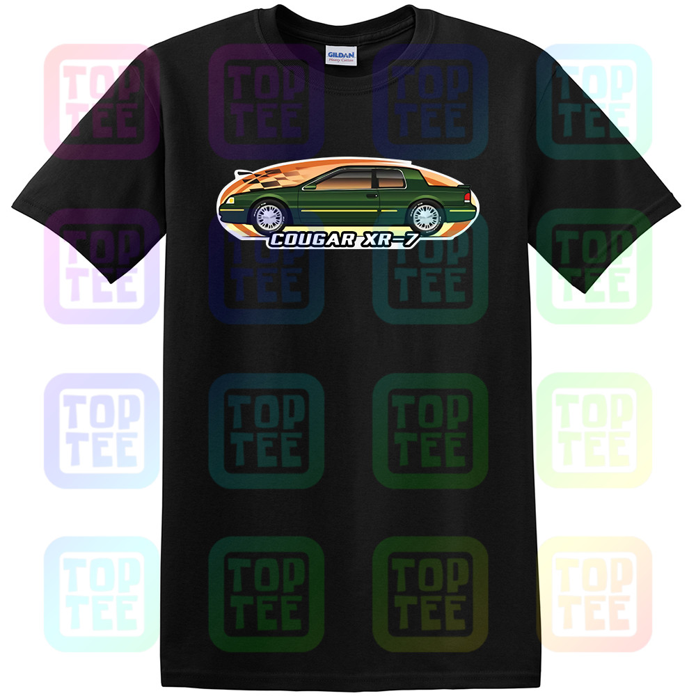 Car Art T-shirt Cougar XR-7 XR7 1996 1997 LS not affiliated with Mercury