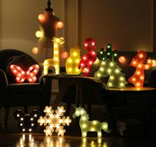 3D cactus LED table lamp in a romantic style green lamp holiday lighting night lights for decoration for children #8217 s bedroom cheap JIAMEN cartoon Button Battery LED Bulbs Switch 0-5W LITHIUM ION