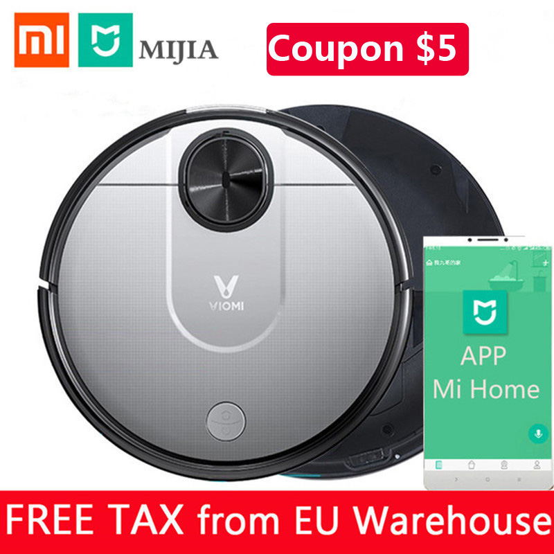 New Original Xiaomi Viomi V2 Robot Vacuum Cleaner For Home Automatic Sweeping Dust Collector Mi Home