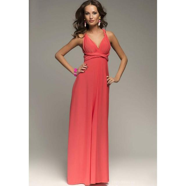 Ladies Sexy Women Maxi Club Dress Bandage Long Party Multiway Swing Convertible Infinity Red Bridesmaids Boho Dresses Plus Size 10