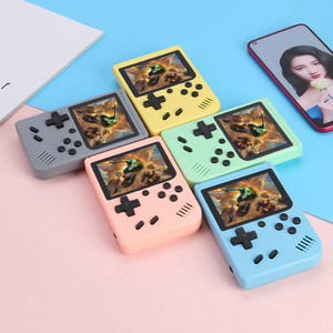 Image 1 - NEW 500 Game Pocket Game Console 3.0 inch Mini Handheld Game Player 8 Bit Retro Consoles LCD Video Gaming Console For Kids Gifts