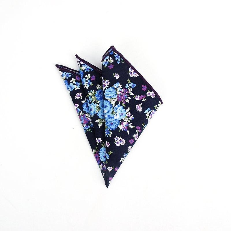 Image 4 - Совершенно новый стиль мужские цветные носовые платки винтажные платки с цветочным узором мужские квадранные Карманные Платки с розами ПейслиМужские галстуки и носовые платки    АлиЭкспресс