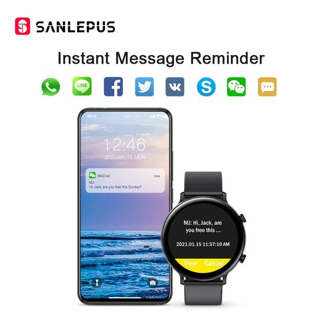 Smart Watch Bluetooth Calls Men Women Waterproof Smartwatch 3
