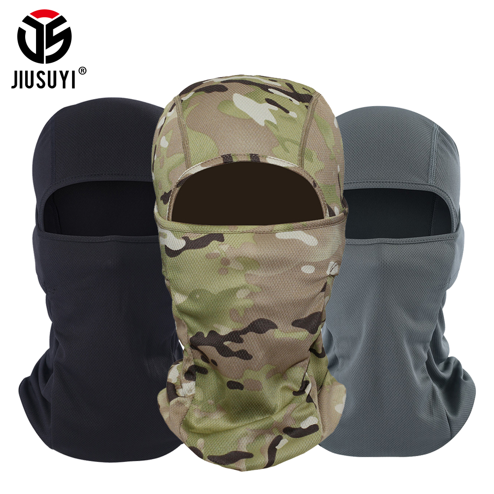 Multicam Cp Tactical Military Army Balaclava Airsoft Shooting Bicycle Camouflage Hat Helmet Liner Full Face Caps Beanies Cap Men(China)