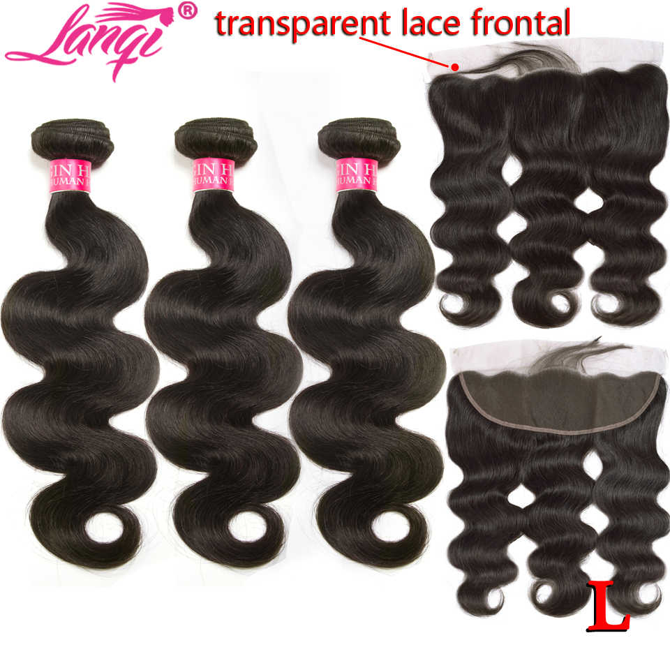 body wave 28 30 inch bundles with frontal Brazilian human hair weave bundles with transparent hd lace frontal closure non-remy