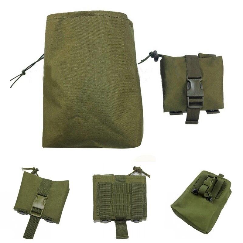 Складные тактические мешочки для свалки  утилита  EDC  военные аксессуары  сумка для восстановления  охотничьи страйкбольные патроны