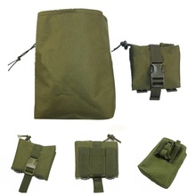 Foldable Molle Tactical Dump Drop Magazine Pouch Utility EDC Military Accessories Recovery Bag Hunting Airsoft Ammo Mag Pouches