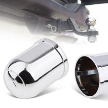 50 мм Автомобильный хромированный пластиковый Фаркоп для буксировки, защита фаркопа, крышка для грузовика, прицепа, RV, кемпера и т. д., автомобильные аксессуары