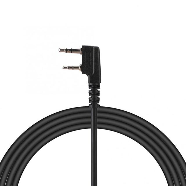 Купить динамик mic walkie talkie кабель для динамика baofeng uv5r kenwood картинки цена